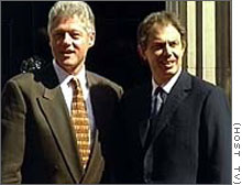 """an overview of the power of president clinton and prime minister blair President bill clinton warned prime minister tony blair that iraq could become a """"nightmare"""" for the uk four years before britain and the us invaded the country in search of weapons of mass destruction (wmd."""